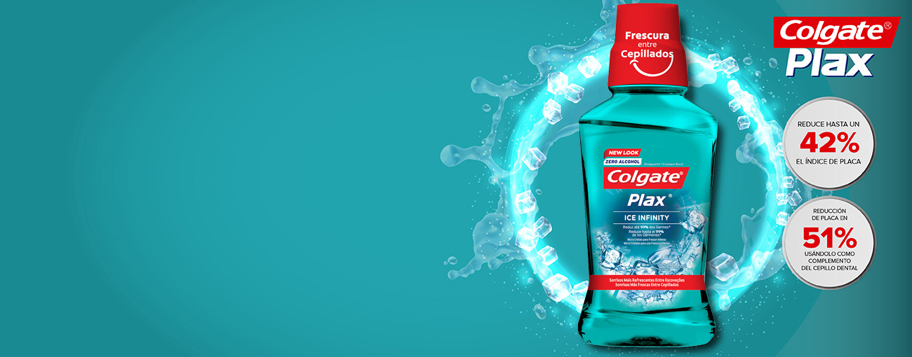 Enjuague Bucal Colgate® Plax Ice Infinity